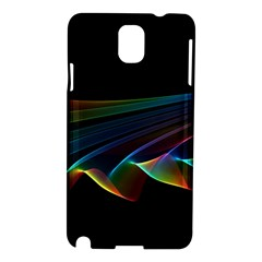 Flowing Fabric Of Rainbow Light, Abstract  Samsung Galaxy Note 3 N9005 Hardshell Case