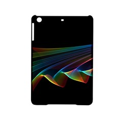 Flowing Fabric Of Rainbow Light, Abstract  Apple Ipad Mini 2 Hardshell Case