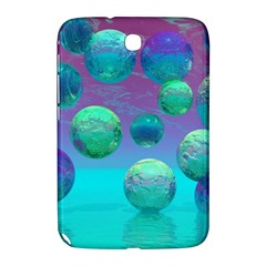 Ocean Dreams, Abstract Aqua Violet Ocean Fantasy Samsung Galaxy Note 8 0 N5100 Hardshell Case