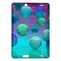 Ocean Dreams, Abstract Aqua Violet Ocean Fantasy Kindle Fire Hd 7  (2nd Gen) Hardshell Case