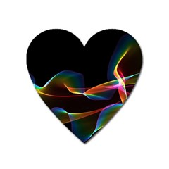 Fluted Cosmic Rafluted Cosmic Rainbow, Abstract Winds Magnet (Heart)