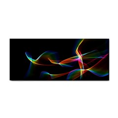 Fluted Cosmic Rafluted Cosmic Rainbow, Abstract Winds Hand Towel
