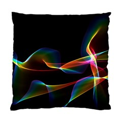 Fluted Cosmic Rafluted Cosmic Rainbow, Abstract Winds Cushion Case (Two Sided)