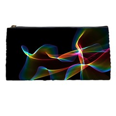 Fluted Cosmic Rafluted Cosmic Rainbow, Abstract Winds Pencil Case