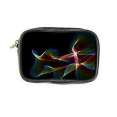 Fluted Cosmic Rafluted Cosmic Rainbow, Abstract Winds Coin Purse