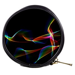 Fluted Cosmic Rafluted Cosmic Rainbow, Abstract Winds Mini Makeup Case