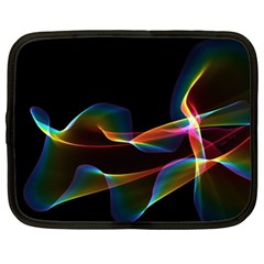 Fluted Cosmic Rafluted Cosmic Rainbow, Abstract Winds Netbook Sleeve (xl)