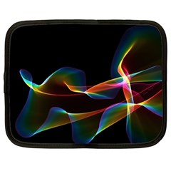 Fluted Cosmic Rafluted Cosmic Rainbow, Abstract Winds Netbook Sleeve (xxl)