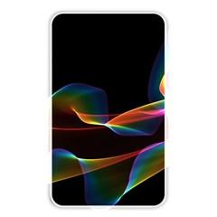 Fluted Cosmic Rafluted Cosmic Rainbow, Abstract Winds Memory Card Reader (rectangular)
