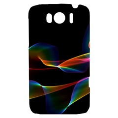 Fluted Cosmic Rafluted Cosmic Rainbow, Abstract Winds HTC Sensation XL Hardshell Case