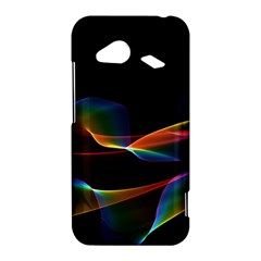 Fluted Cosmic Rafluted Cosmic Rainbow, Abstract Winds HTC Droid Incredible 4G LTE Hardshell Case