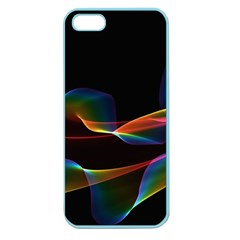 Fluted Cosmic Rafluted Cosmic Rainbow, Abstract Winds Apple Seamless iPhone 5 Case (Color)