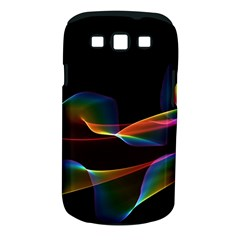 Fluted Cosmic Rafluted Cosmic Rainbow, Abstract Winds Samsung Galaxy S III Classic Hardshell Case (PC+Silicone)