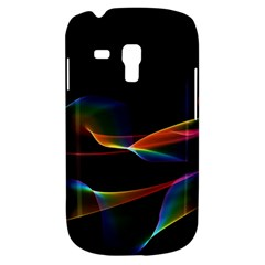 Fluted Cosmic Rafluted Cosmic Rainbow, Abstract Winds Samsung Galaxy S3 MINI I8190 Hardshell Case