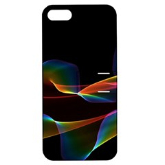 Fluted Cosmic Rafluted Cosmic Rainbow, Abstract Winds Apple iPhone 5 Hardshell Case with Stand
