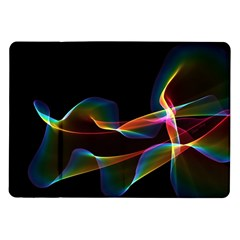 Fluted Cosmic Rafluted Cosmic Rainbow, Abstract Winds Samsung Galaxy Tab 10.1  P7500 Flip Case