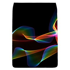 Fluted Cosmic Rafluted Cosmic Rainbow, Abstract Winds Removable Flap Cover (Large)