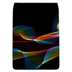 Fluted Cosmic Rafluted Cosmic Rainbow, Abstract Winds Removable Flap Cover (small)