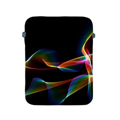 Fluted Cosmic Rafluted Cosmic Rainbow, Abstract Winds Apple Ipad Protective Sleeve