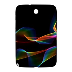 Fluted Cosmic Rafluted Cosmic Rainbow, Abstract Winds Samsung Galaxy Note 8.0 N5100 Hardshell Case