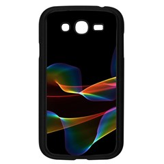 Fluted Cosmic Rafluted Cosmic Rainbow, Abstract Winds Samsung Galaxy Grand Duos I9082 Case (black)
