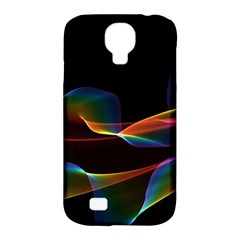 Fluted Cosmic Rafluted Cosmic Rainbow, Abstract Winds Samsung Galaxy S4 Classic Hardshell Case (PC+Silicone)