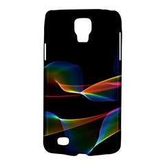 Fluted Cosmic Rafluted Cosmic Rainbow, Abstract Winds Samsung Galaxy S4 Active (I9295) Hardshell Case