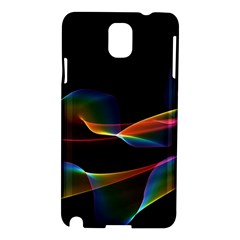 Fluted Cosmic Rafluted Cosmic Rainbow, Abstract Winds Samsung Galaxy Note 3 N9005 Hardshell Case