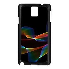 Fluted Cosmic Rafluted Cosmic Rainbow, Abstract Winds Samsung Galaxy Note 3 N9005 Case (Black)