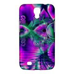 Teal Violet Crystal Palace, Abstract Cosmic Heart Samsung Galaxy Mega 6.3  I9200 Hardshell Case