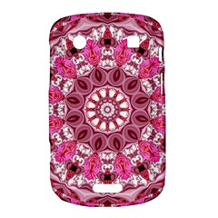 Twirling Pink, Abstract Candy Lace Jewels Mandala  BlackBerry Bold Touch 9900 9930 Hardshell Case