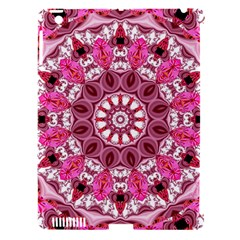 Twirling Pink, Abstract Candy Lace Jewels Mandala  Apple Ipad 3/4 Hardshell Case (compatible With Smart Cover)