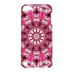 Twirling Pink, Abstract Candy Lace Jewels Mandala  Apple Ipod Touch 5 Hardshell Case