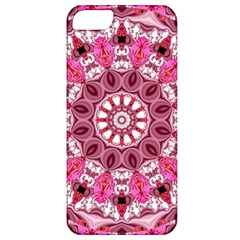 Twirling Pink, Abstract Candy Lace Jewels Mandala  Apple Iphone 5 Classic Hardshell Case