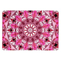 Twirling Pink, Abstract Candy Lace Jewels Mandala  Samsung Galaxy Tab 10 1  P7500 Flip Case