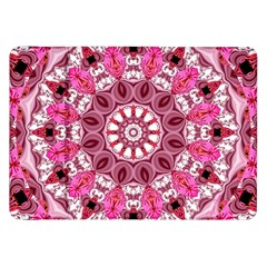 Twirling Pink, Abstract Candy Lace Jewels Mandala  Samsung Galaxy Tab 8.9  P7300 Flip Case