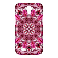Twirling Pink, Abstract Candy Lace Jewels Mandala  Samsung Galaxy Mega 6.3  I9200 Hardshell Case