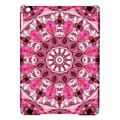 Twirling Pink, Abstract Candy Lace Jewels Mandala  Apple iPad Air Hardshell Case