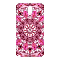 Twirling Pink, Abstract Candy Lace Jewels Mandala  Samsung Galaxy Note 3 N9005 Hardshell Back Case