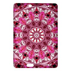Twirling Pink, Abstract Candy Lace Jewels Mandala  Kindle Fire Hd 7  (2nd Gen) Hardshell Case
