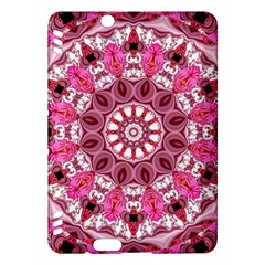 Twirling Pink, Abstract Candy Lace Jewels Mandala  Kindle Fire HDX 7  Hardshell Case