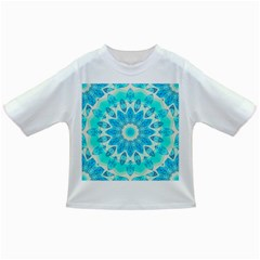 Blue Ice Goddess, Abstract Crystals Of Love Baby T-shirt