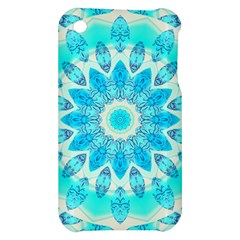 Blue Ice Goddess, Abstract Crystals Of Love Apple iPhone 3G/3GS Hardshell Case