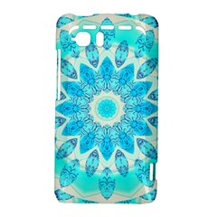 Blue Ice Goddess, Abstract Crystals Of Love HTC Vivid / Raider 4G Hardshell Case