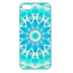 Blue Ice Goddess, Abstract Crystals Of Love Apple Seamless iPhone 5 Case (Color)