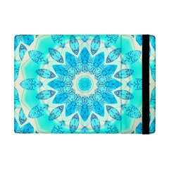 Blue Ice Goddess, Abstract Crystals Of Love Apple Ipad Mini Flip Case