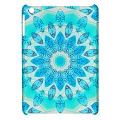 Blue Ice Goddess, Abstract Crystals Of Love Apple iPad Mini Hardshell Case