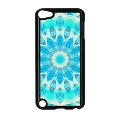 Blue Ice Goddess, Abstract Crystals Of Love Apple Ipod Touch 5 Case (black)