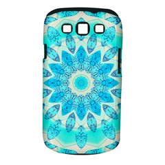 Blue Ice Goddess, Abstract Crystals Of Love Samsung Galaxy S III Classic Hardshell Case (PC+Silicone)