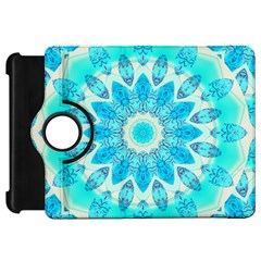 Blue Ice Goddess, Abstract Crystals Of Love Kindle Fire HD 7  (1st Gen) Flip 360 Case